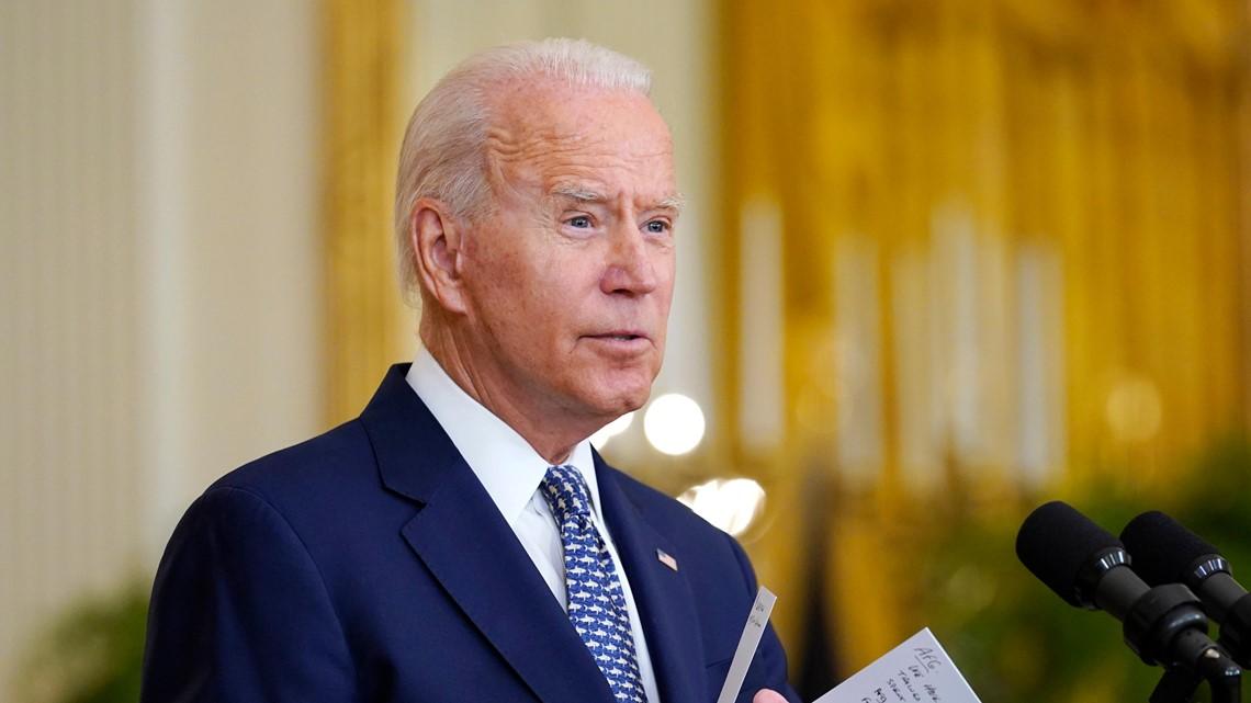 Biden planea hablar el martes en un laboratorio de energía renovable en el condado Jefferson