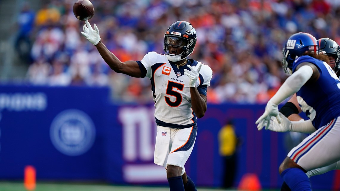 Broncos rewatch: Teddy's 10 terrific 3rd and 4th down plays that beat the Giants