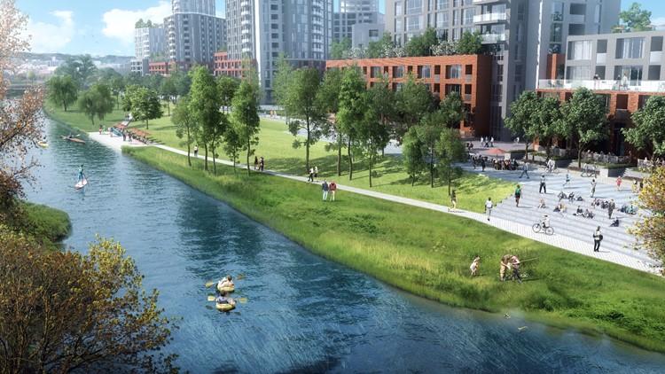 River Mile rendering