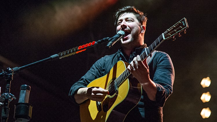 Marcus Mumford of Mumford & Sons 2