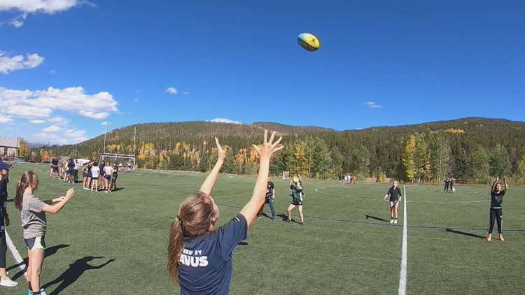 Rugby Clinic in Breckenridge