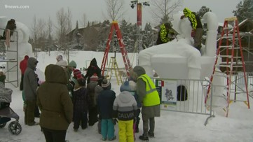 9Adventures: Breckenridge hosts 30th Snow Sculpting Competition