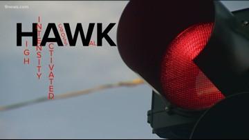 Denver adds HAWK lights to better protect pedestrians