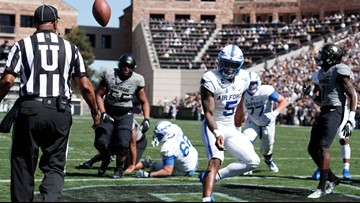 Remsberg scores in OT, Air Force beats Colorado 30-23