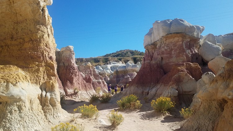 Improvements planned to protect the Paint Mines