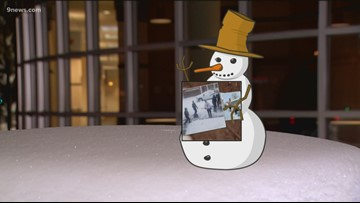Flurry the Snowman helps show off your great snow storm content