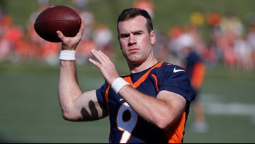Rough camp practice for Hogan does not mean Lock is ready for No. 2 QB