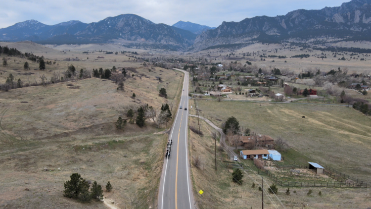 Boulder bike ride brings community together to heal after tragedy