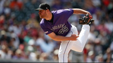 Rockies, Oberg agree to $13 million, 3-year deal