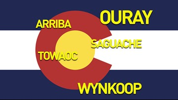 This is how you pronounce confusing names of towns and streets in Colorado