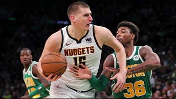 Nuggets clinch first playoff berth since 2013 with win over Celtics