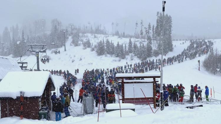 COVID-19 vaccines plow the road for ski resort visitors