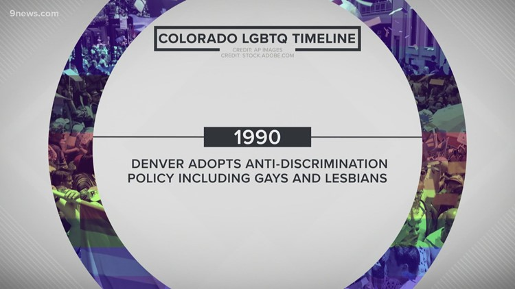 A timeline of LGBTQ+ history in Colorado