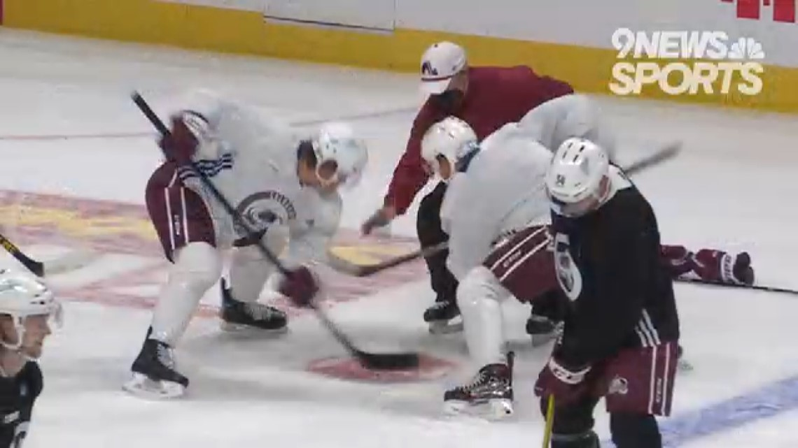 Avs host Golden Knights for pivotal West Division series