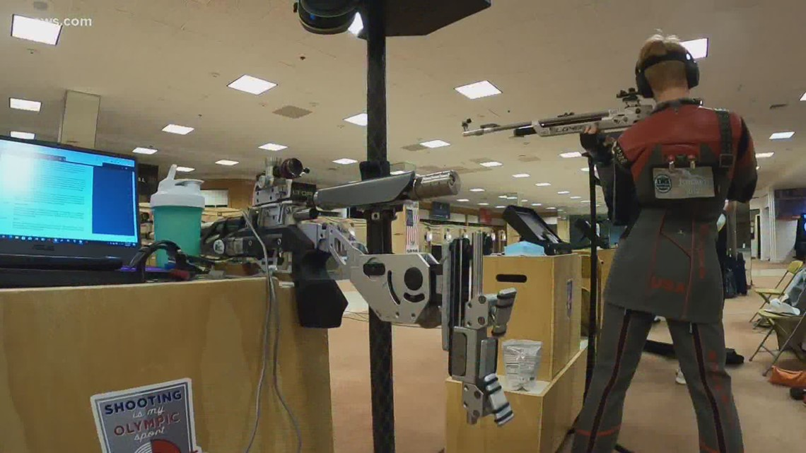 Abandoned department store serves as training facility for USA Boxing, Shooting