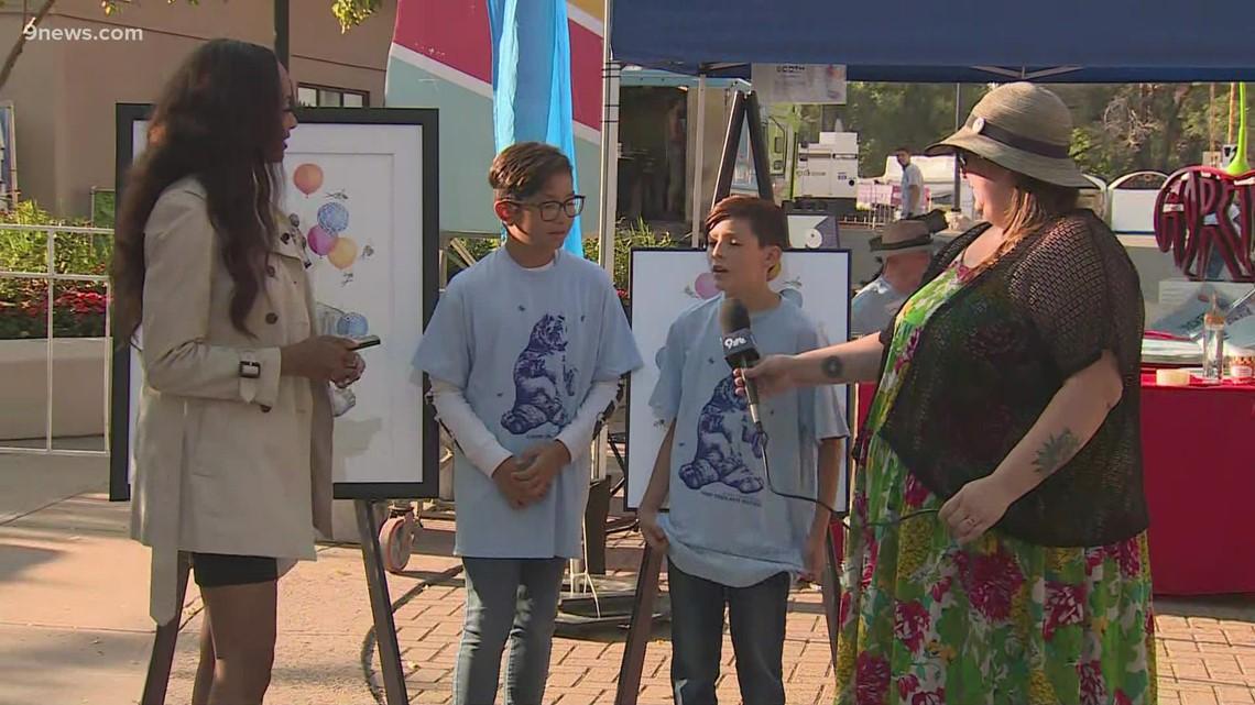 Denver school partnering with artist at Cherry Creek Arts Festival