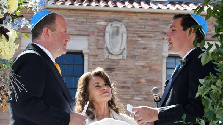 Gov. Jared Polis marries First Gentleman Marlon Reis