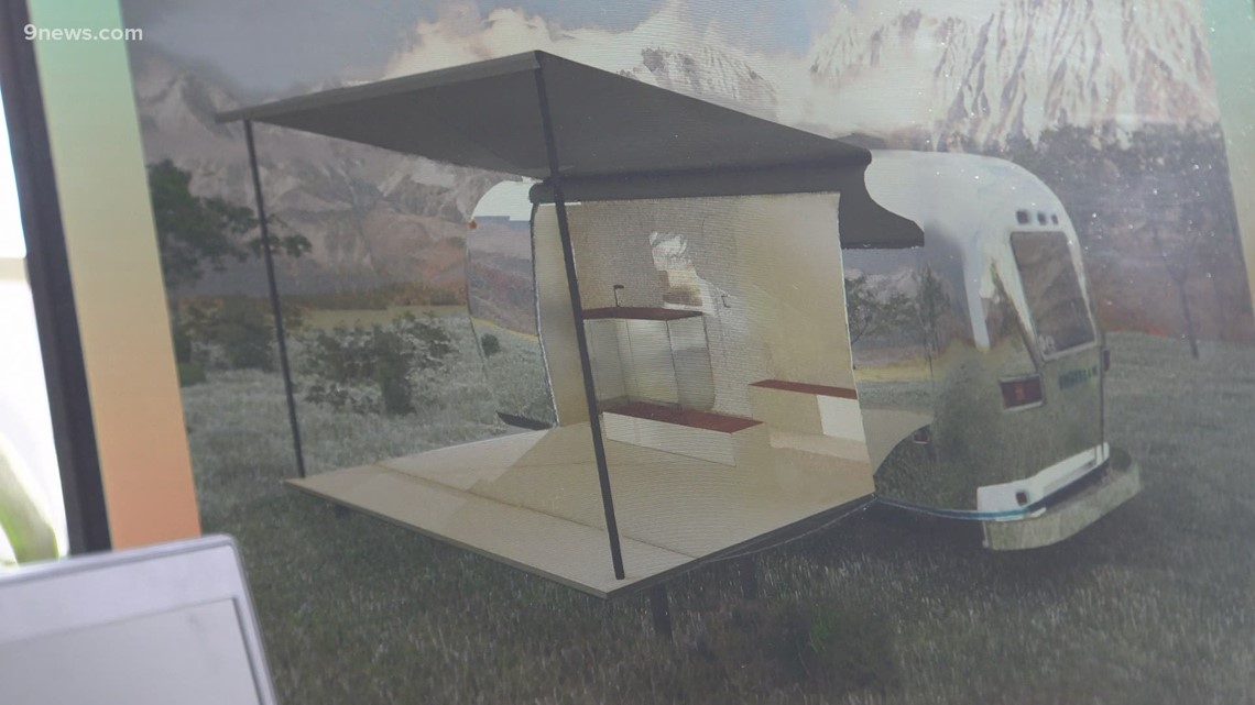 Breckenridge Music using mobile Airstream stage for summer concerts