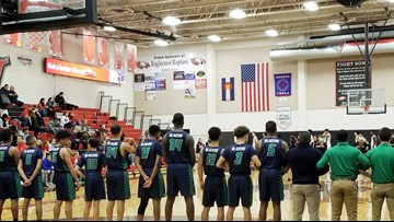 Overland boys hoops defeats Eaglecrest