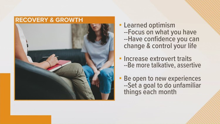 Trauma recovery can lead to opportunities for growth