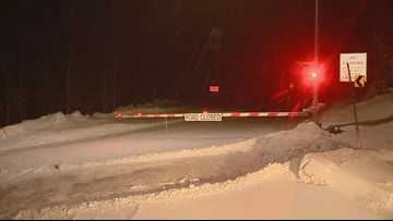 Snowslide closes US 6 over Loveland Pass overnight