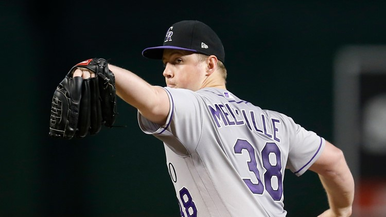 Melville goes 7 strong, Rockies roll over D-backs 7-2