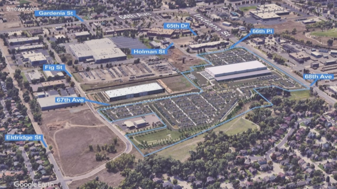 Arvada city council holds hearing on proposed Amazon facility