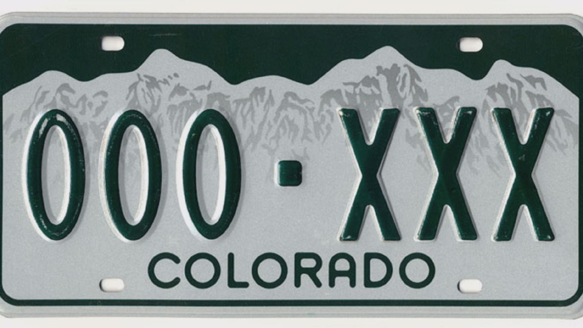 Red Line Reflective License Plate Both Lines Personalized Send a Message to Seller Upon Checkout with Your Information