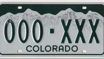 Random facts about Colorado license plates