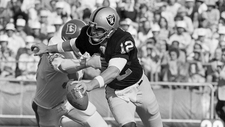 Raiders Broncos 1976