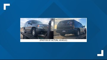 Police looking for GMC SUV involved in hit-and-run in downtown Denver