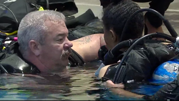 Scuba diving helping Colorado veterans with disabilities