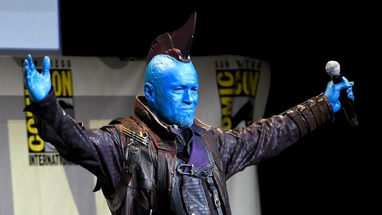 2016 Comic-Con Marvel Studios Panel Michael Rooker  AP