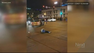 Suspect police say hit 2 pedestrians in LoDo charged with assault
