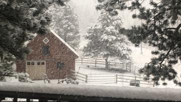 Blizzard bringing hurricane-force winds to Denver