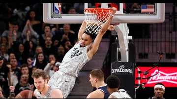 DeRozan, Aldridge lead Spurs past Nuggets 111-103