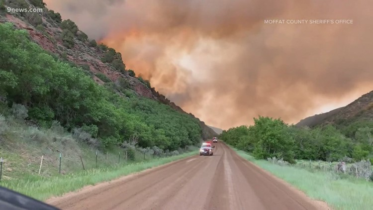 Colorado wildfires: Collom Fire update, Stage 1 restrictions