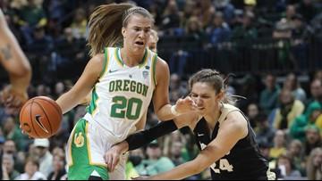 Ionescu has 21 as No. 2 Oregon women rout Colorado 104-46