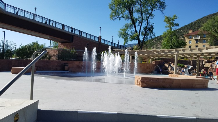 Glenwood Splash Fountain