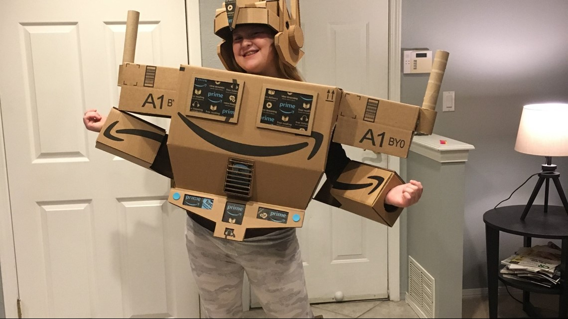 Amazon makes 'Prime' costume come to life for girl with ...