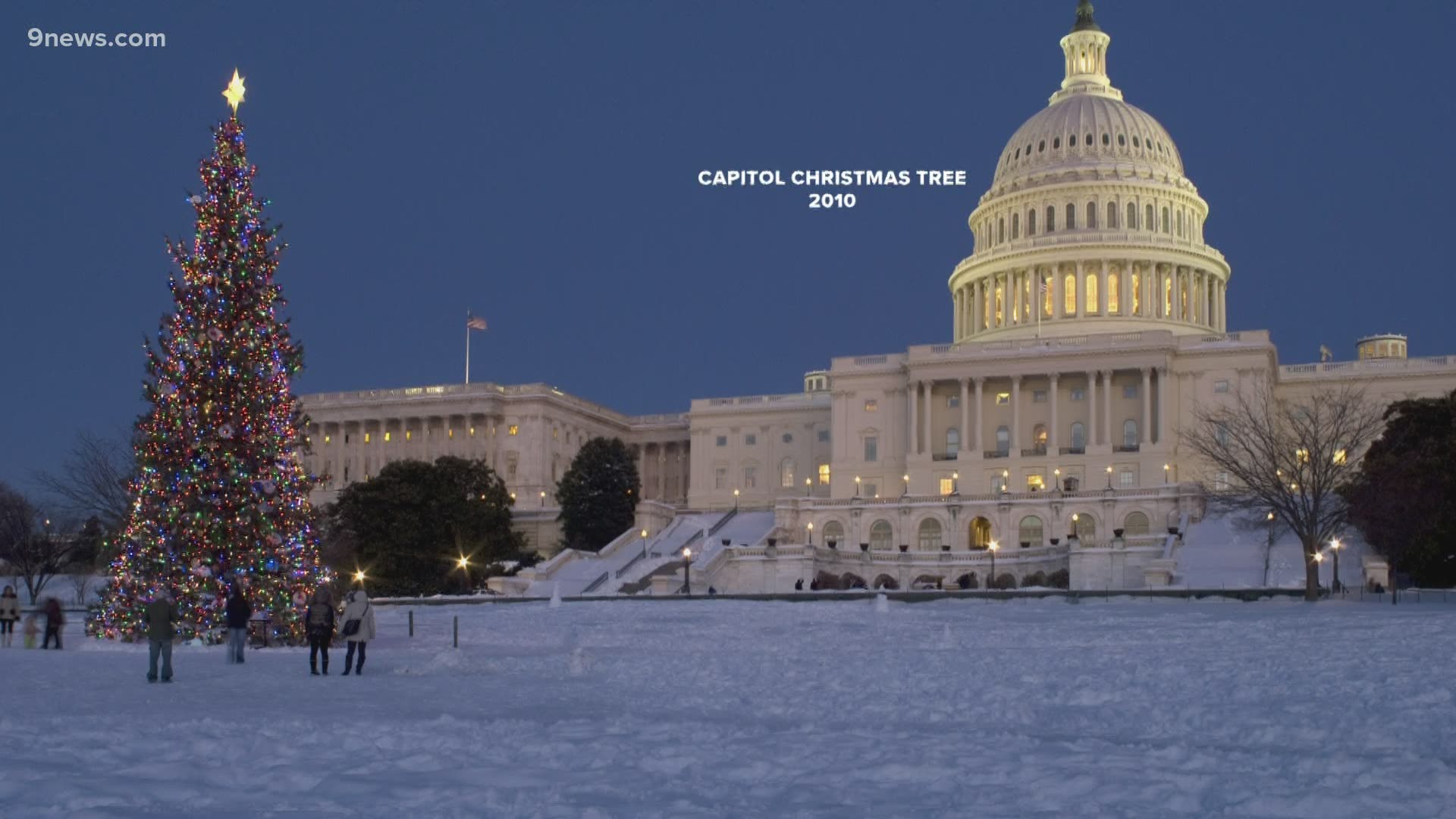 Christmas 2020 Site:Youtube.Com Where you can view the 2020 U.S. Capitol Christmas tree on tour