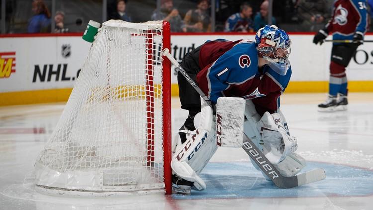 Colorado Avalanche goaltender Semyon Varlamov