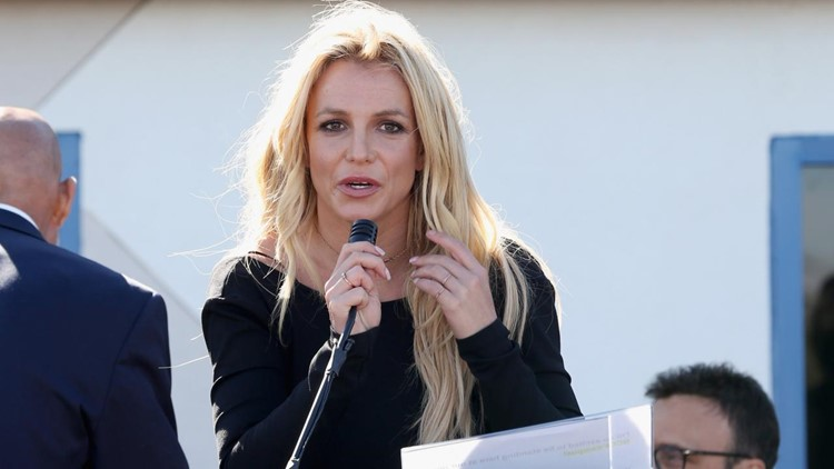 Britney Spears (strip)teases a whiff of a comeback