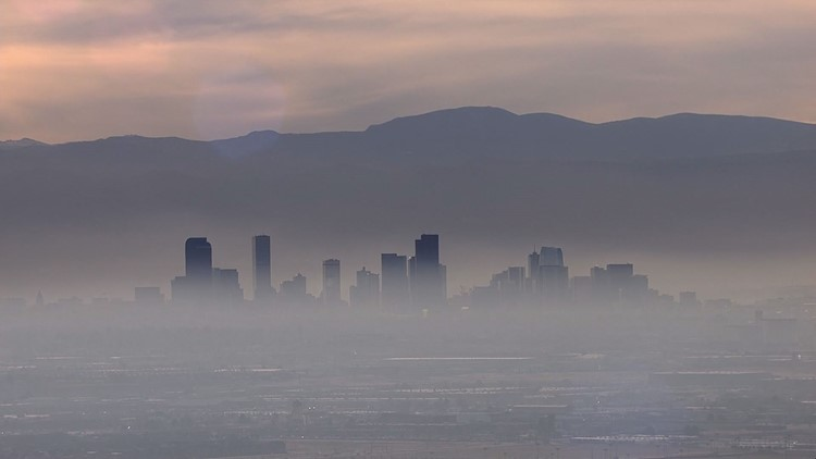 Denver's air quality is 4 times the max exposure recommendation