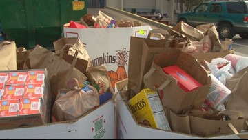 Who the 9Cares Colorado Shares food drive helps