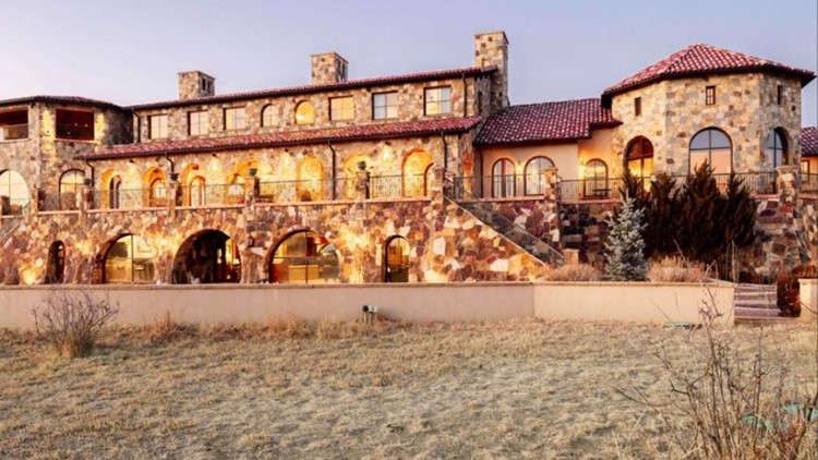 16K-SF Colorado Golf Club mansion with Pikes Peak views lists for $5M