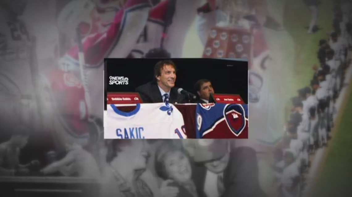 On this day in sports: Joe Sakic becomes youngest NHL player to record 100 points