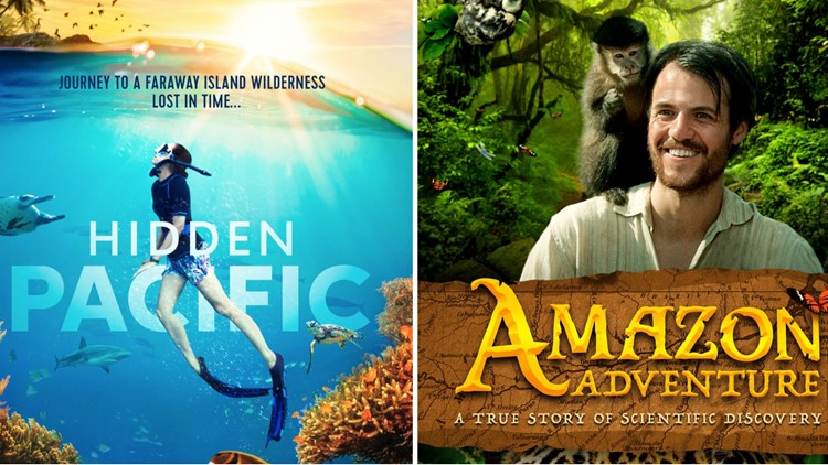 Hidden Pacific Amazon Adventure IMAX DMNS