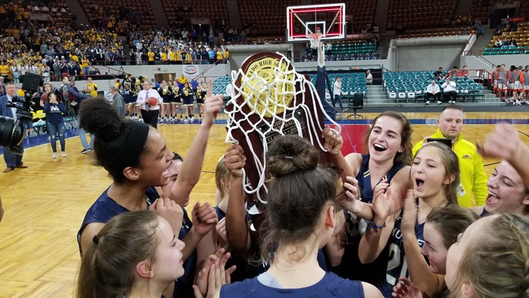 Mullen girls basketball state championship 2019