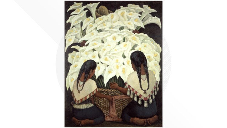 Diego Rivera_Calla Lilly Vendor, 1943